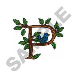 TREE - P embroidery design
