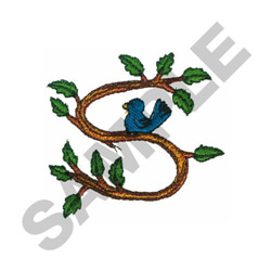 TREE - S embroidery design