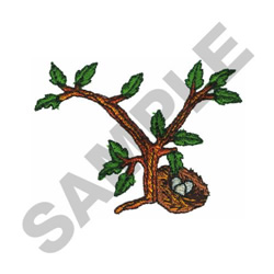 TREE - Y embroidery design