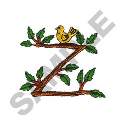 TREE - Z embroidery design