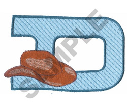 WESTERN D embroidery design