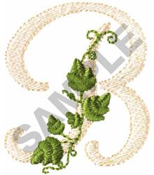 VINE B embroidery design