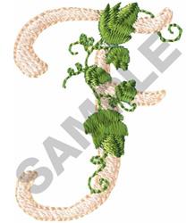 VINE F embroidery design