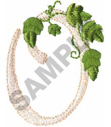 VINE O embroidery design