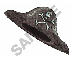 PIRATE HAT embroidery design