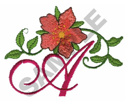 FLORAL A embroidery design