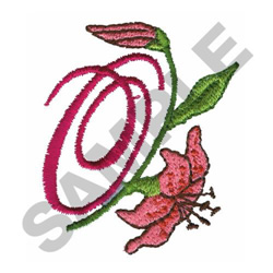 FLORAL O embroidery design