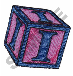 TOY BLOCKS I embroidery design