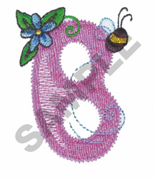 GARDEN GIRL B embroidery design