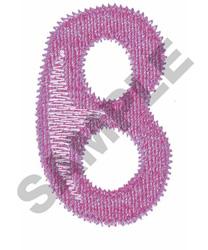 BUBBLE GUM B embroidery design