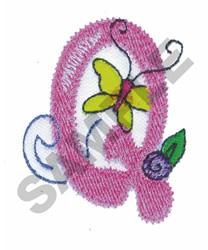 GARDEN GIRL Q embroidery design