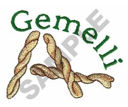GEMELLI embroidery design