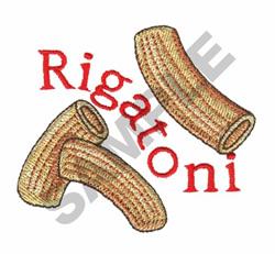 RIGATONI embroidery design