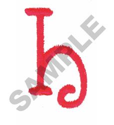 FUN H embroidery design