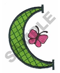 BRIGHT ALPHA C embroidery design