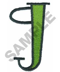 BRIGHT ALPHA G embroidery design