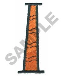 BRIGHT ALPHA L embroidery design