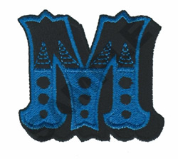 CIRCUS M embroidery design