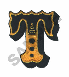 CIRCUS T embroidery design