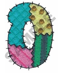 O embroidery design