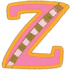 ZETA embroidery design