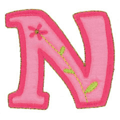 NU embroidery design
