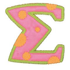 SIGMA embroidery design