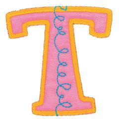 TAU embroidery design