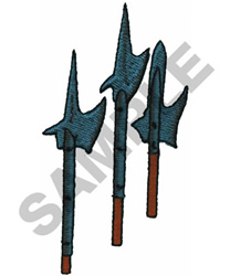 SPEARS AND LANCES embroidery design