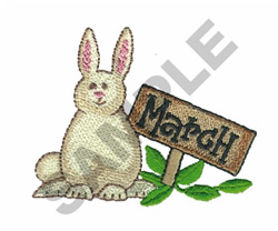 MARCH embroidery design