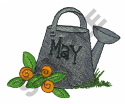 MAY embroidery design