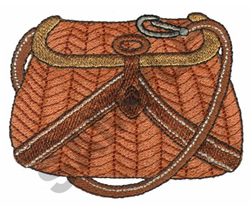 FISHING BAG embroidery design