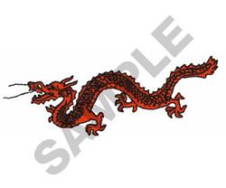 DRAGON embroidery design