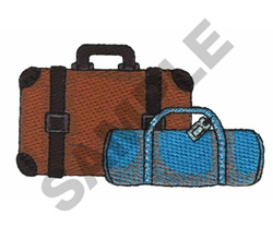 SUIT CASES embroidery design