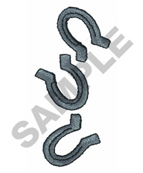 HORSE SHOES embroidery design