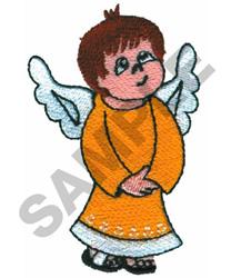 BOY ANGEL embroidery design