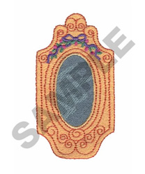 MIRROR embroidery design