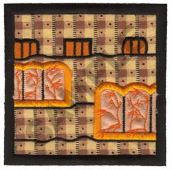 QUILT SQUARE APPLIQUE embroidery design