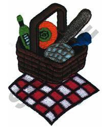 PICNIC BASKET embroidery design
