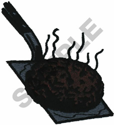 GRILLING BURGERS embroidery design