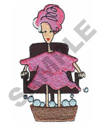 PEDICURE embroidery design