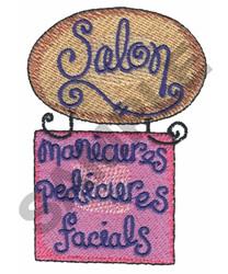 SALON embroidery design