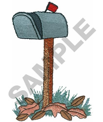 MAILBOX embroidery design