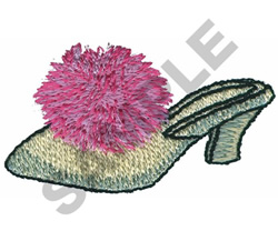 HOUSE SLIPPERS embroidery design