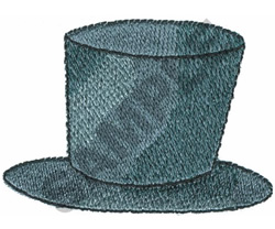 TOP HAT embroidery design