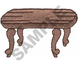 COFFEE TABLE embroidery design