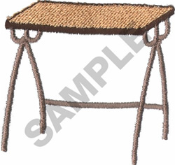 TV TRAY embroidery design