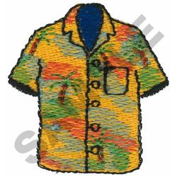 HAWAIIAN SHIRT embroidery design