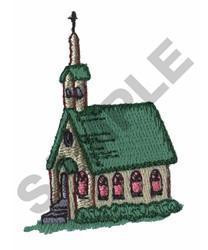 CHURCH embroidery design