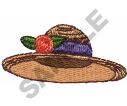 HAT embroidery design